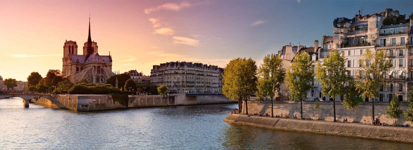 Paris et la Seine